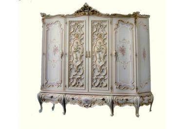 Armadio in stile veneziano acquista armadi in stile veneziano online su livingo - Stile veneziano mobili ...