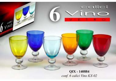 Bicchiere colorato acquista bicchieri colorati online su for Bicchieri colorati
