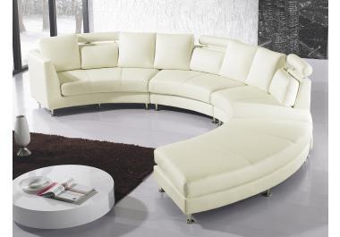 Divano rotondo acquista divani rotondi online su livingo for Divano rotondo