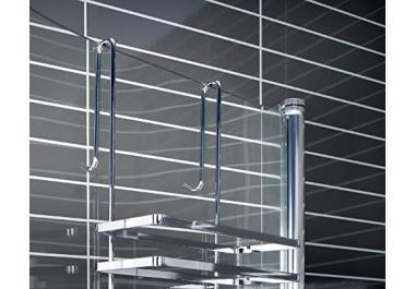 Mensola per doccia acquista mensole per doccia online su - Mensole bagno senza forare ...