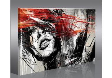 Quadro moderno acquista quadri moderni online su livingo for Quadri immagini sacre moderni