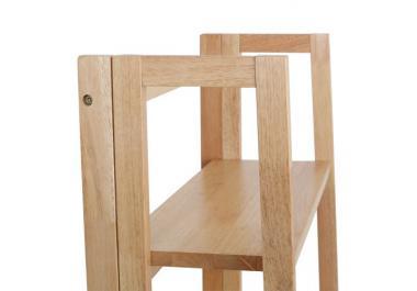 Scaffale in legno acquista scaffali in legno online su for Scaffale legno bianco
