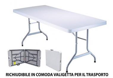 Tavolo da giardino in resina acquista tavoli da giardino in resina online su livingo - Tavoli in resina da esterno ...