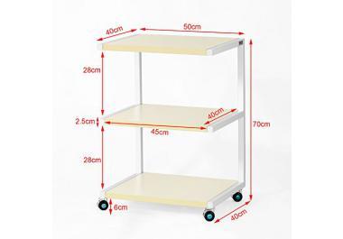 tavolino con ruote » acquista tavolini con ruote online su livingo - Tavolino Per Letto Con Rotelle